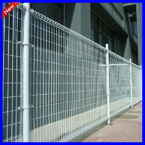 Decorative Metal Double Circle Fence Panels