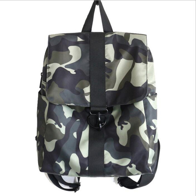Factory wholesale fashion leisure women camouflage color backpack
