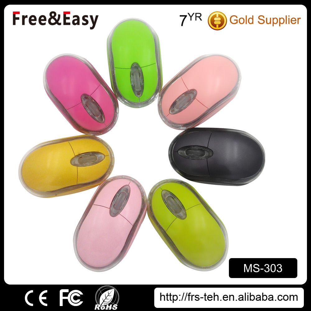 cheapest 3D 1.5m cable optical sensor colorful wired usb optical mouse
