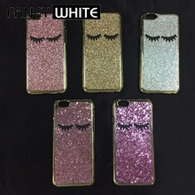 Light weight colorful fancy shiny cute plastic korean cell phone cases