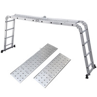 super folding extension Aluminium ladder