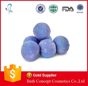 Wholesale Christmas cute fizzy bath bombs
