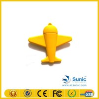safety silicone airplan USB flash drive