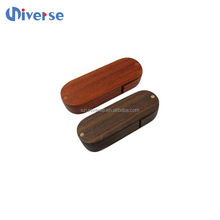 Any Logo Customised Natural Swivel Wood USB 8gb promotion logo swivel usb 2.0 pen drive