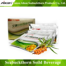 Vitamin C solid beverage appetizer Seabuckthorn solid drinks