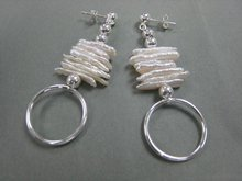 Pearl Stripes Earrings