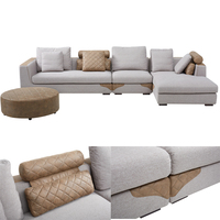 solid wood comfortable living room sofa home furniture sectional sofa