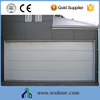 cheap garage door+PU inside+CE certificate|garage door with windows