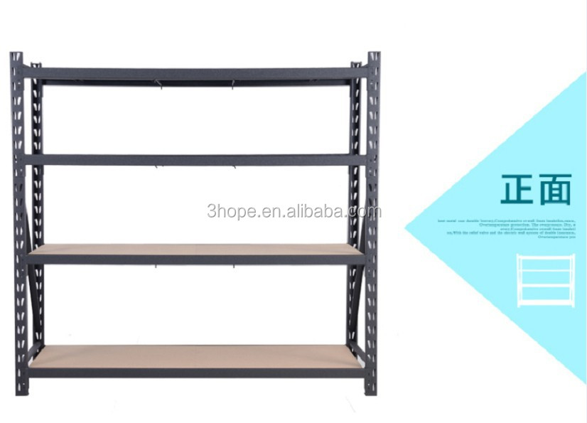 Garage Metal Storage Shelving Shelves Warehouse Racking Rack Stand 183x610x183