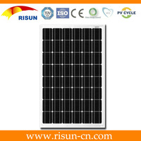 China direct factory 260W mono solar panel high quality with TUV, CEC ,CE , ISO, UL certifications