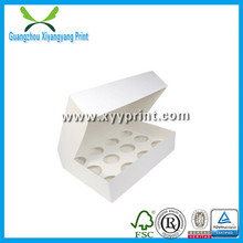 Wholesale Cheaper Lunch Custom Paper Cupcake Box with Window