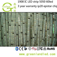 3 year warranty shenzhen factory CE ROHS 5050 rgb dream color 6803 ic led strip light
