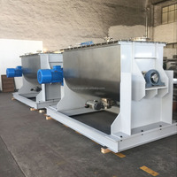 Jiangyin haixiang spices automatic electric ribbon mixer