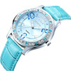 SKONE 9243 Japan movement watch color strap changing watch