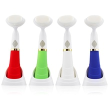 wholesale Products Waterproof Face Skin Cleansing Brush Machine Rechargeable Sonic Electric Facial Brush For Exfoliating