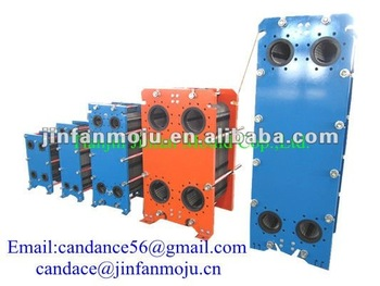 M6B/M6M plate type heat exchanger