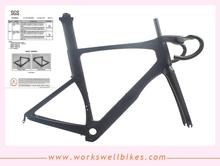 2017 year manufacturer Newest road bike aero carbon frame