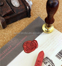letter seal adhesive set of package sealing wax stickers
