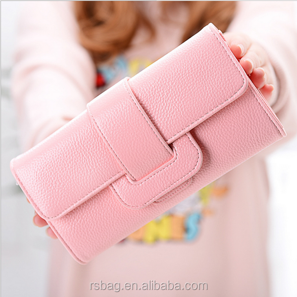 cheap purses slim leather wallet ladies leather wallet coin purse women fashion long wallet women
