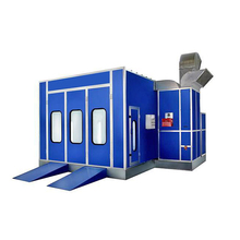 New Design High Quality Water Based Auto Spray Paint Booth for Sale