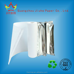 Highly polished thermal fax paper rolls for fax machine