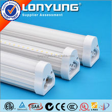 Easy to install no fluorescent bracket T5 integrative tube with fixtures 120cm 15w t5 led light tube
