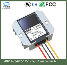 Non-isolated dc converter 48v to 24v with intelligent chip