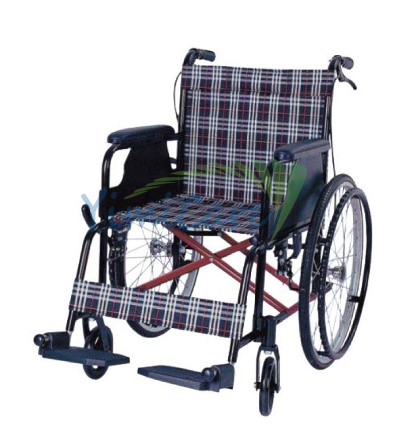 Competitive break folding backrest adjustable height YM864L-J1 function of wheelchair