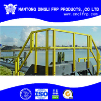 Anti Corrosion Outside FRP Fiberglass Handrail
