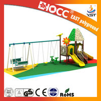 Nice and fun outdoor children playground new with swing 2013