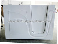 big size walk in bathtub with shower bathtub with seat bathtub for old people biscuit color gelcoat walk in bathtub