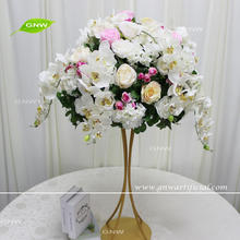GNW CTRA-1705006 New design wedding flower stand decorative artificial flower ball centerpieces for tables