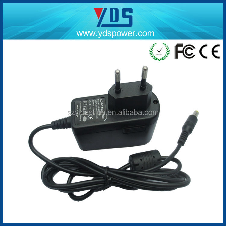 Shenzhen yidashun Portable Travel EU Plug USB AC Power Adapter wall type ac adapter with high quality