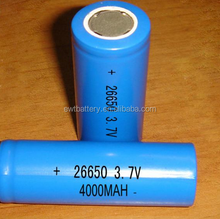 7.4V 3000mAh ICR 26650 li-ion rechargeable DVD player battery pack