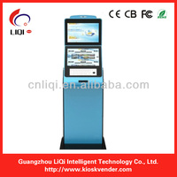 free standing information kiosk, self-service payment terminal