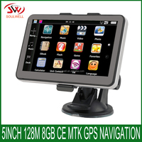 "Cheapest 5"" portable car GPS/High quality 5 inch truck GPS Navigator/OEM Manufacturer Portable Car navigation"