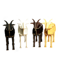 Creative Animal Furniture,MDF DIY Assembled Goat Table For Fashion Living Room,Wooden Animal Furniture