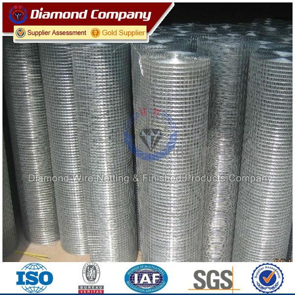 Rolls In Cement : Galvanized welded concrete wire mesh rolls