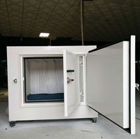 Portable Acoustic Anechoic Chamber Test Cell Isolation Enclosure Audiology Booth Noise Reduction Soundproof Cabinet Insulation