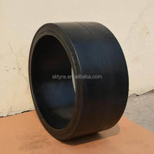 22x9x16 press-on band solid forklift tire