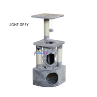 New scracthing cat condo cat tree house