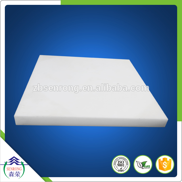 6mm to 100mm thick PTFE molded block