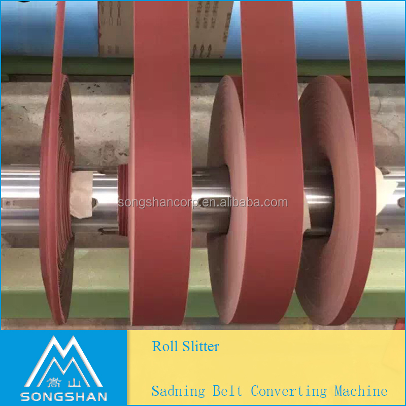 Heavy Duty Big Jumbo Roll Slitter For Abrasive Cloth or Abrasive Paper