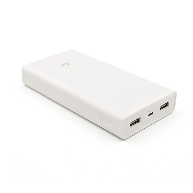 Original Xiaomi Power Bank 20000 mAh External Battery Portable Charger