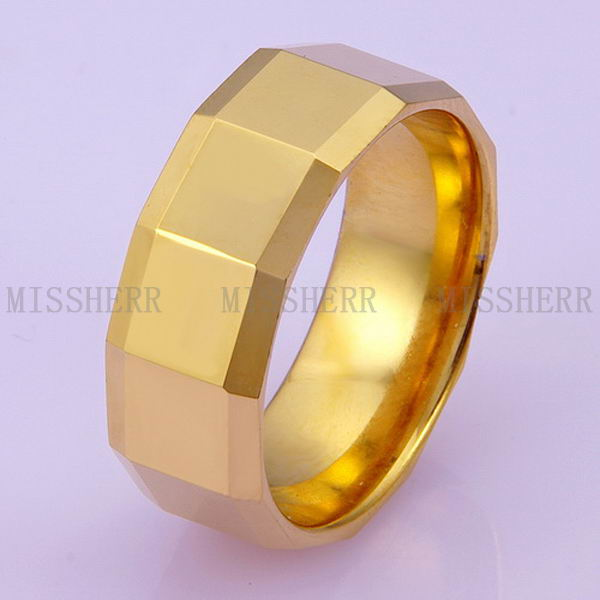 Newest customized tungsten size 13 rings for women