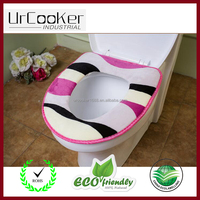 Bathroom Warmer Washable Cloth Toilet Seat Cover Pad Disposable toilet seat cover