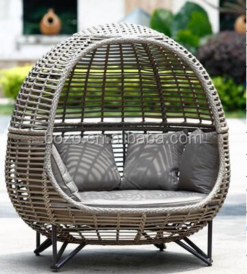 egg shaped outdoor furniture outdoor rattan egg chair
