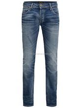 high-quality smart denim jeans 3D shaping men's jeans b2b wholesale men jeans