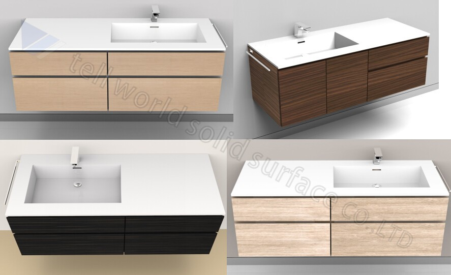 Corian Bathroom Cabinets White Solid Surface Vanities Corian Vanities Buy Corian Vanities