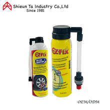 Tire sealant and inflator for car and bicycle
